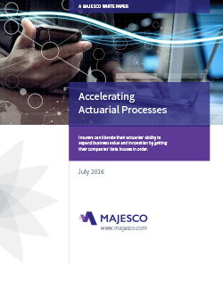Accelerating Actuarial Processes White Paper
