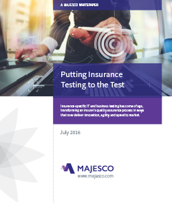 Cover Putting Insurance testing to the Test