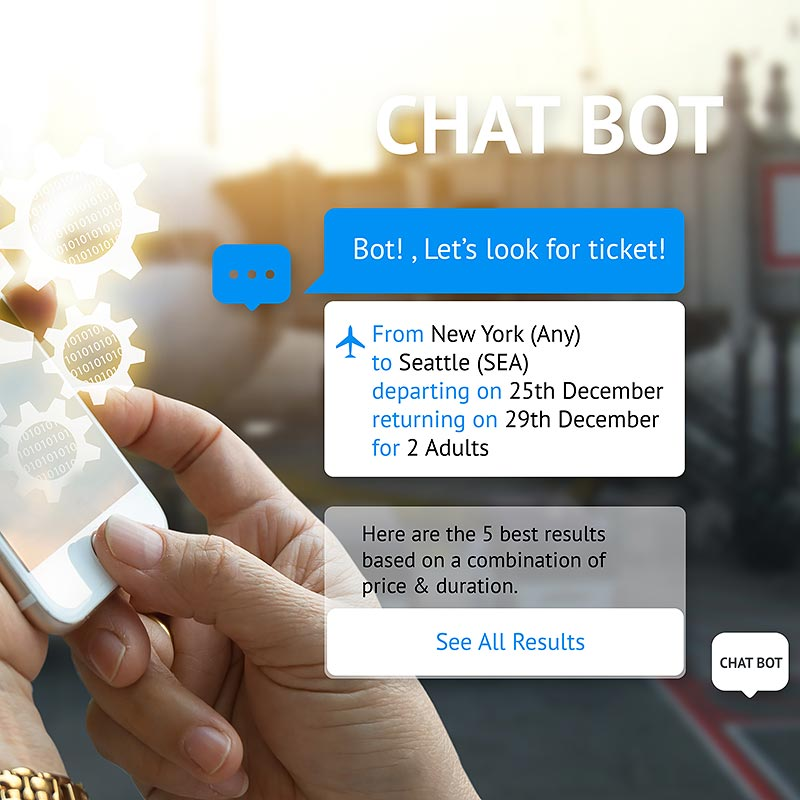 Cloud-based chatbot