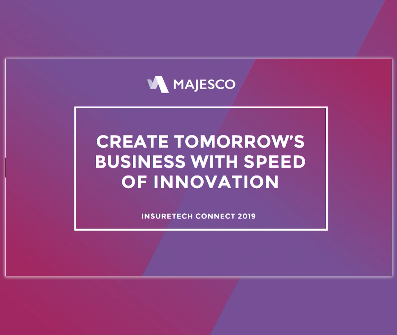 The Path to Create Tomorrow's Business – A Live Proof of Concept
