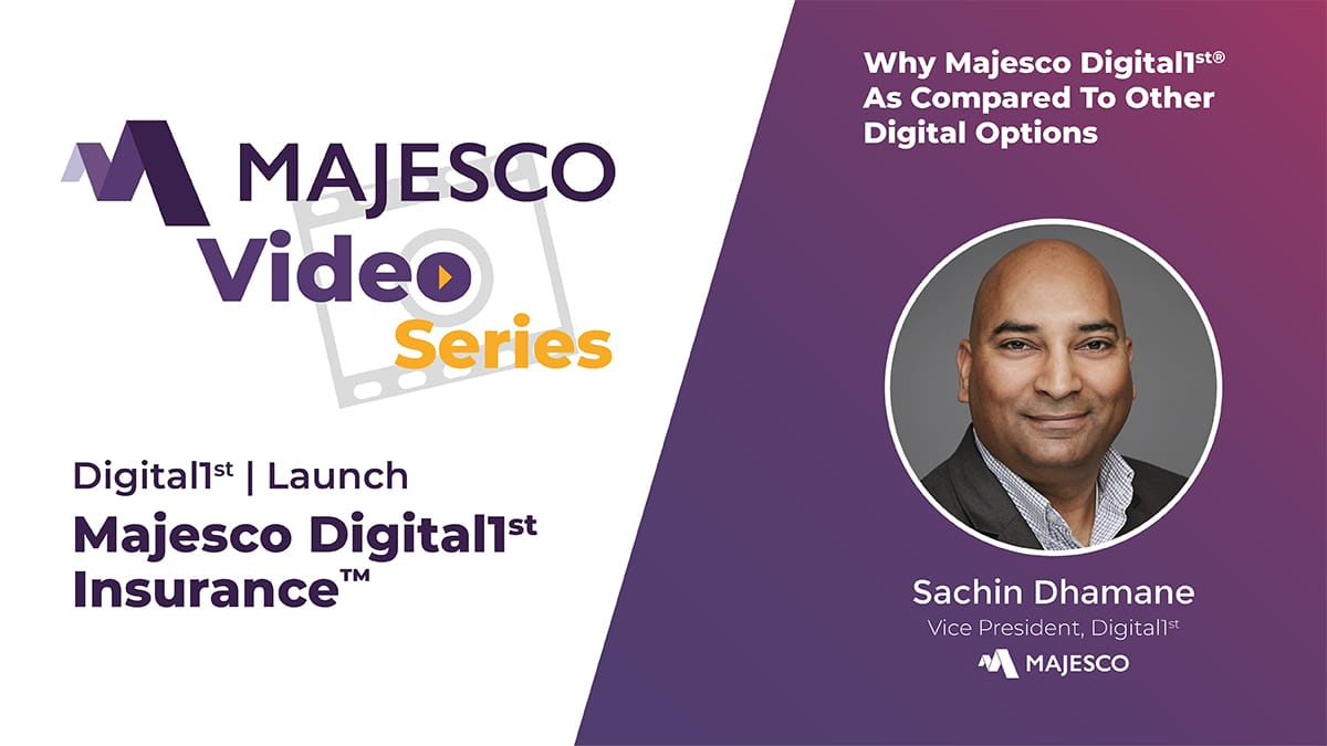 Digital First Companies Use Majesco Digital1st®