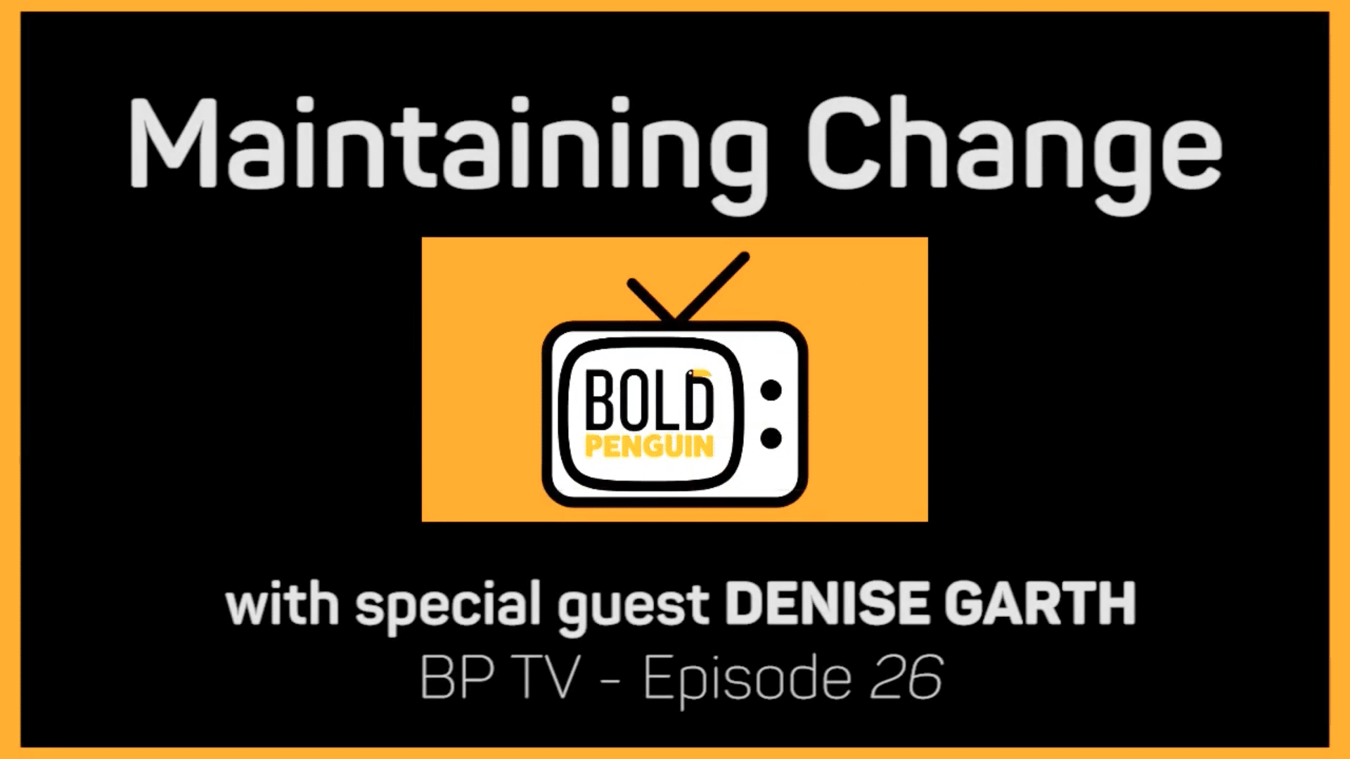 Maintaining Change with Denise Garth, Chief Strategy Officer of Majesco